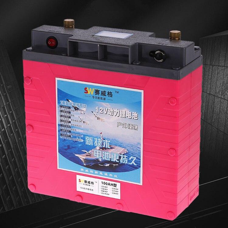 Высокая отвода 12 В/5 В USB 40AH, 60AH, 80AH, 100AH, 120AH, 150, 160AH литий полимерный литий ионная аккумуляторная Батарея power bank