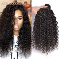 "8A Brazilian Water Wave Virgin Hair Cheap Brazilian Hair 3 pcs Lot Free Shipping,8""-26"" Brazilian Curly Virgin Hair Human Hair"