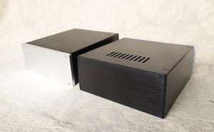 Image 4 - JC229 all алюминиевый корпус может использоваться в качестве блока питания/предусилителя/чехла корпуса усилителя