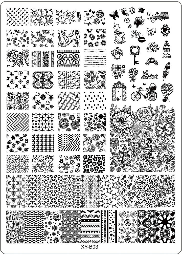Brave Silicone Nail Stamping Plate Nail Art Templates Pure Clear Jelly Scraper With Cap Transparent Nail Stamp Nail Art A Great Variety Of Models Nails Art & Tools Nail Art Templates