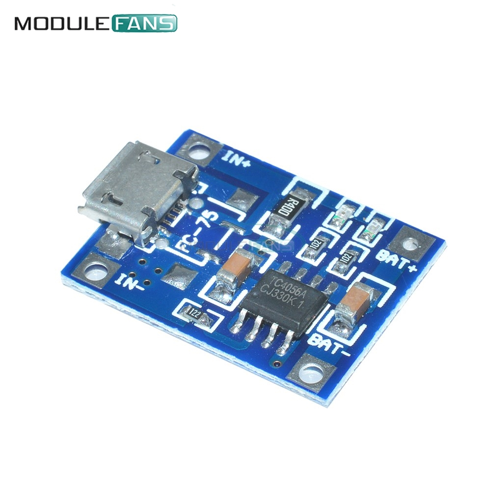 1x Mini USB 5V TP4056 Lipo 1A Lithium Li Ion Battery Charging Module Diy Chip V
