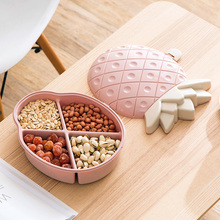 Creative Snacks Storage Box Fruits Shape Candy Dish Bowl Home Decoration Serving Tray Melon Seeds Dried Fruit Plate Dish Tray