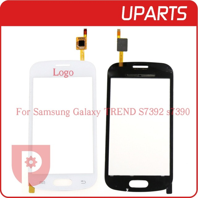 50pcs/lot Original For Samsung Trend Lite GT-S7390 S7392   Touch Screen Panel Sensor Lens Glass Free Shipping+Tracking code