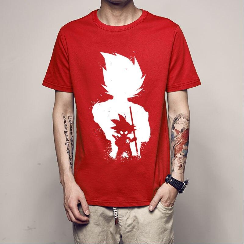 Anime DBZ Super Saiyan Full Color T-shirts