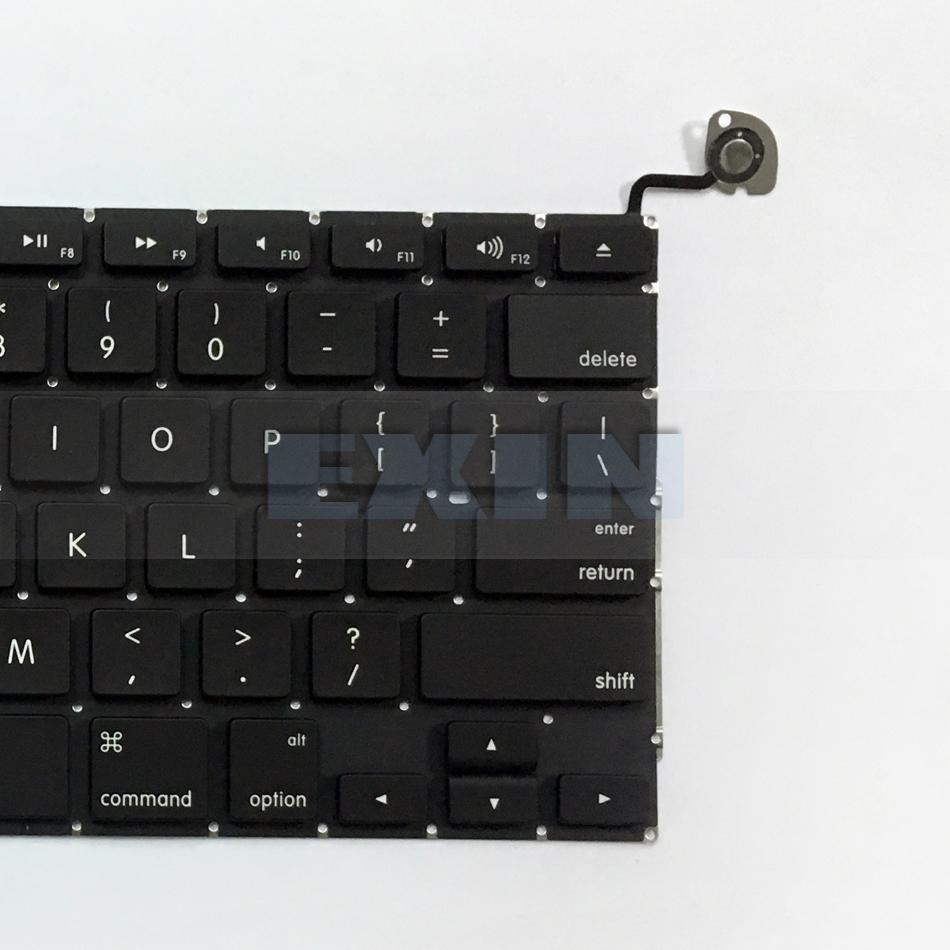 "New Apple Macbook Pro Unibody 13.3/"" A1278 Keyboard 2009 2010 2011 2012 US SCREWS"