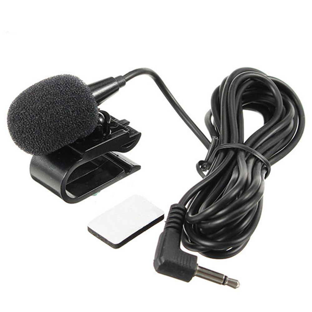 Mini Portable Professional Car Audio Microphone 3.5mm Jack Plug Mic Stereo Mini Wired External Microphone For Auto DVD Radio