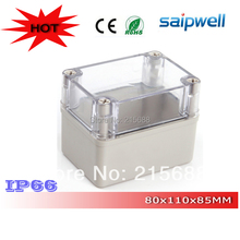 Most popular  PVC Outdoor Waterproof Junction Box Clear Cover IP66