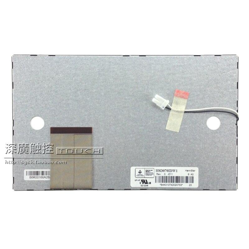 7 inch LCD screen color HSD070IDW1 -D00 E11 Han E13 vehicle navigation DVD display screen мобильный телефон samsung galaxy s8 sm g 950 фиолетовый