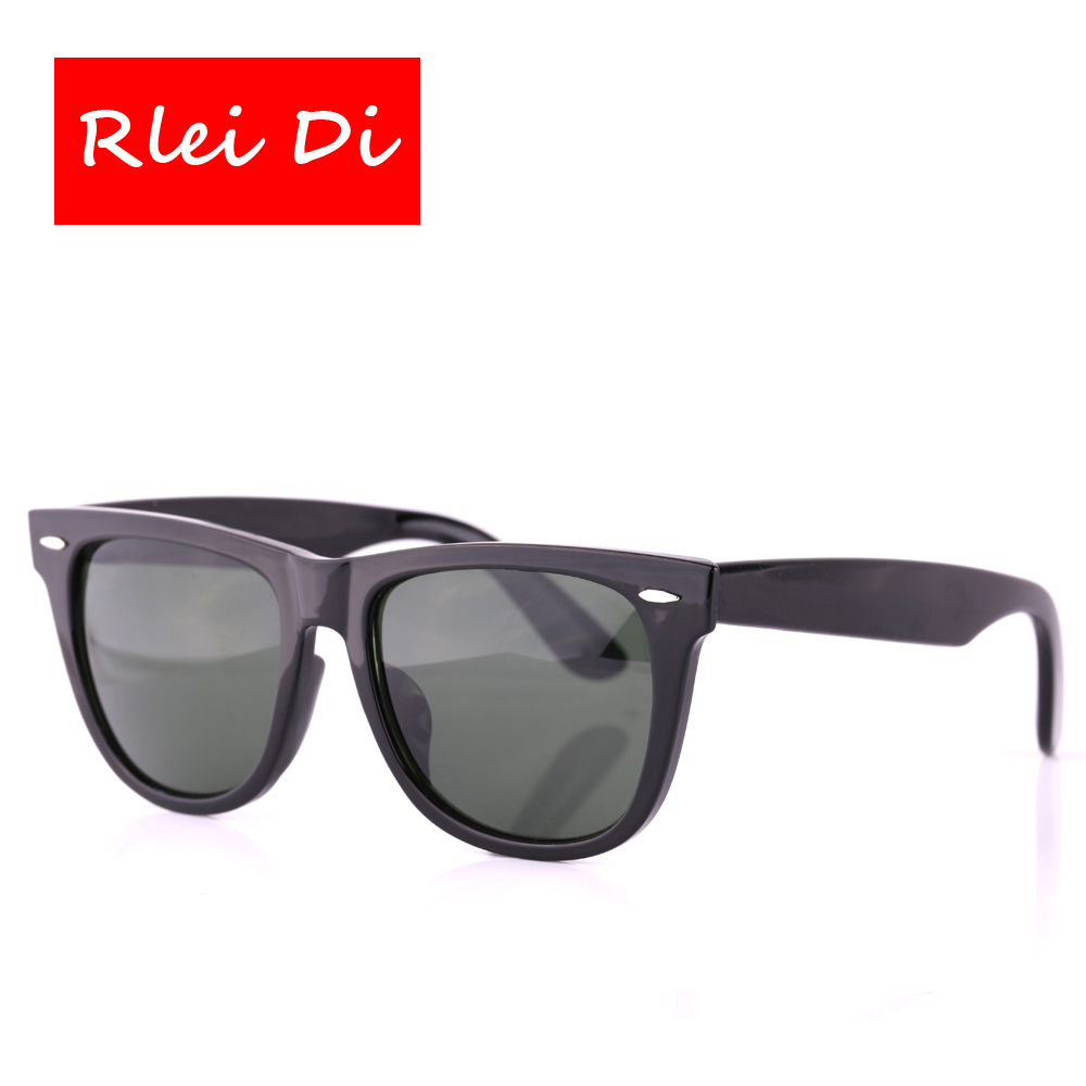 RLEI DI High Quality Square Sunglasses Unisex Sport Outdoor Eyewear 54mm  Large frame Glass Lens Men Women Traveling Sun Glasses-in Sunglasses from  Women s ... bed975122c3e