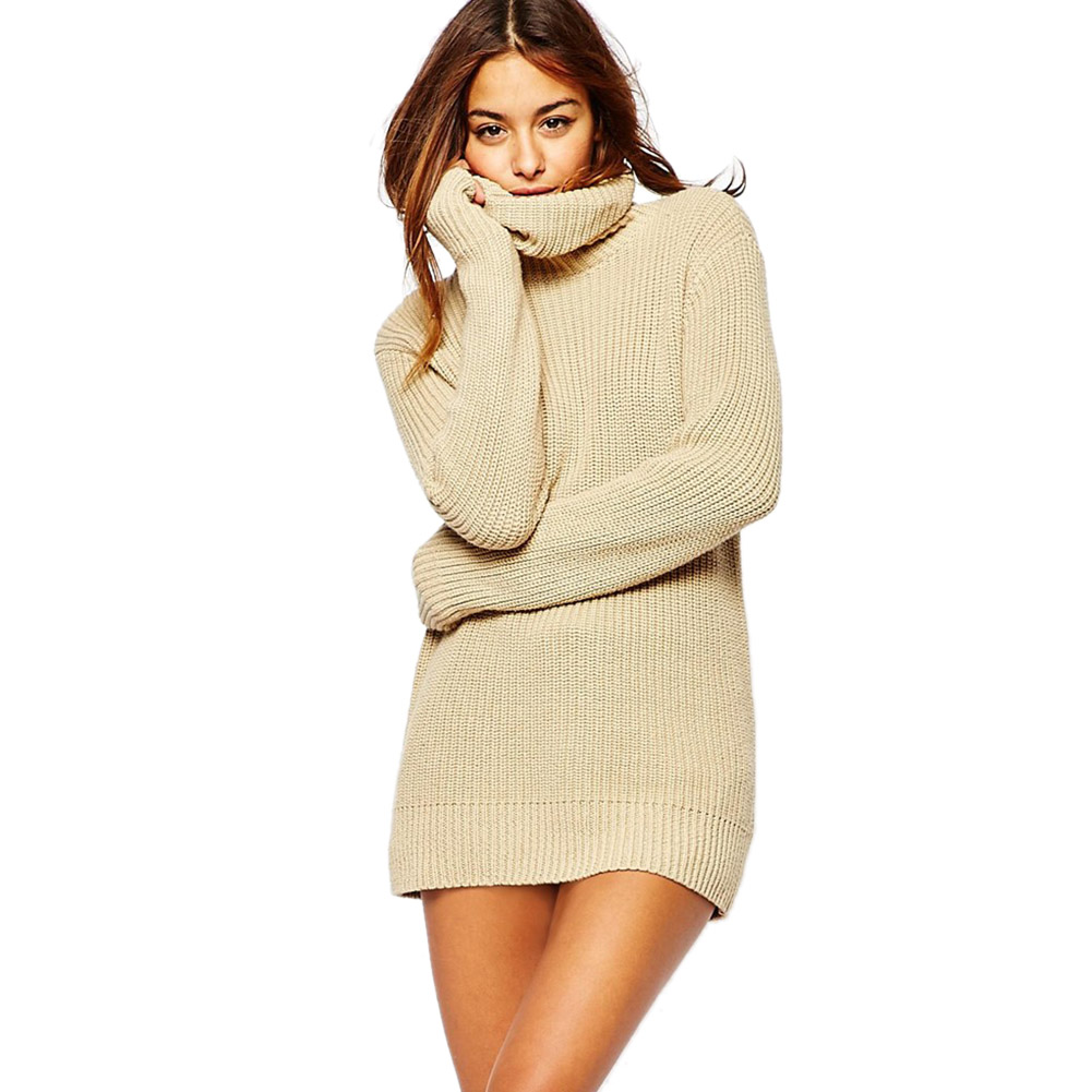 Popular Sweater Dresses with Cowl Neck-Buy Cheap Sweater Dresses ...