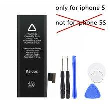 Kaluos 1440mAh bateria do apple iphone 5 A1428 A1429 z narzędziami do demontażu