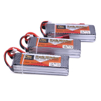 3pcs 11 1V 2200Mah 3S 30C Max Li Po Battery T Plug With For RC Helicopter