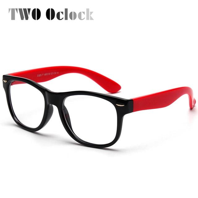 35463b1d6e7 TWO Oclock Flexible Kids Eyeglasses Frame TR90 Child Glasses Unbreakable  Safe Boys Girls Optic Myopia Glasses Frames Oculo S826