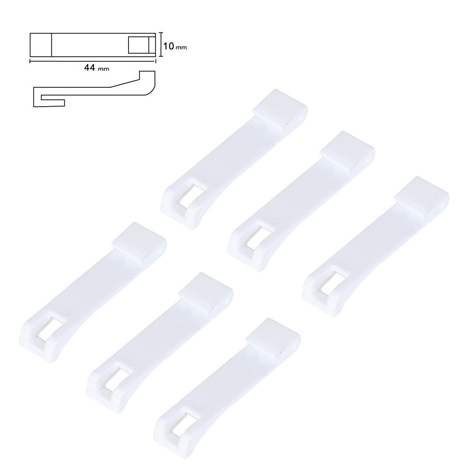 6pcs High Quality Curtain Snap Joint For Curtain Rail Track Drive Unit Gear Box Of Xiaomi/Dooya Smart Curtain Cornice System