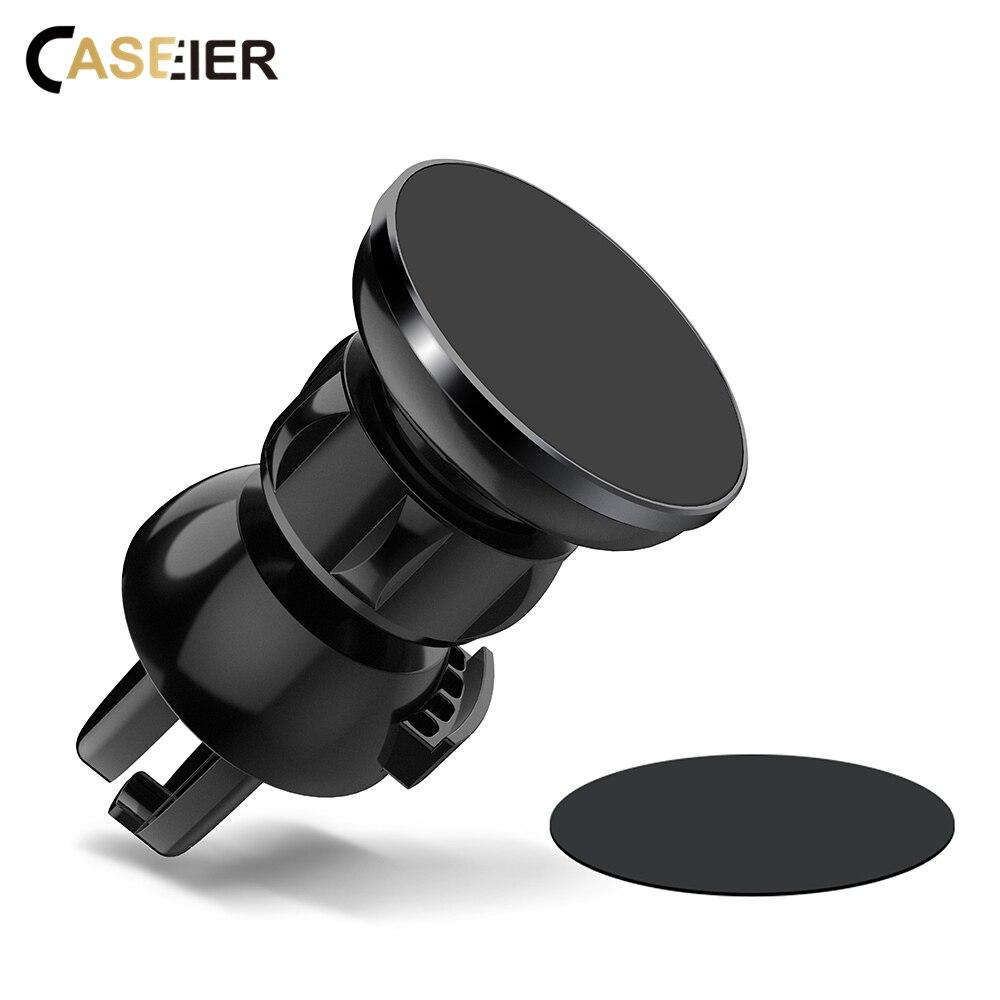 CASEIER support de téléphone magnétique pour voiture fort universel pour votre téléphone Mobile dans le support de voiture pour le support d'évent de voiture Soporte movil coche