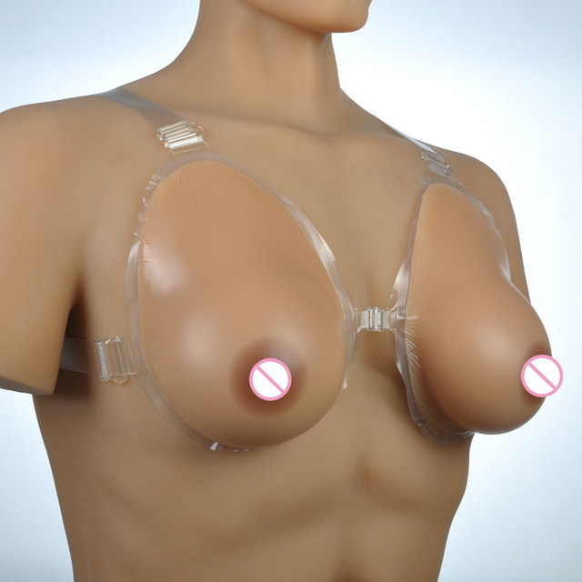 D cup fake boobs
