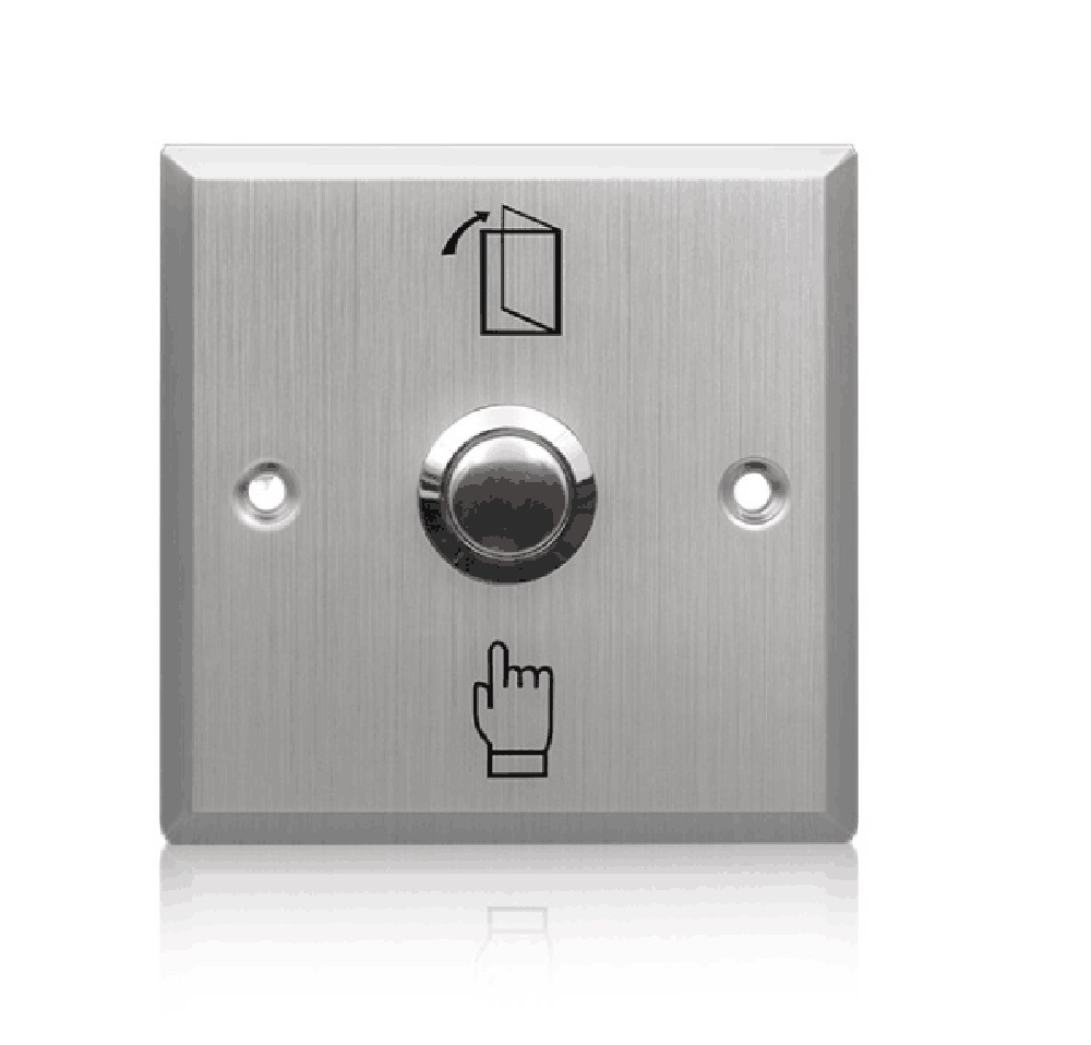 high quality door release stainless steel door exit button for access control system c3 100 single door high quality access control system one door two way access control panel 1 pc rfid reader 1 pc exit button