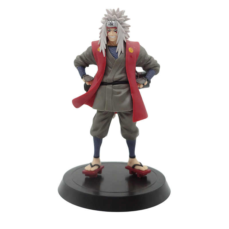 Anime Naruto Jiraiya Standing Ver. PVC Action Figure Naruto's Teacher Gama Sennin Jiraiya Collectible Model Toy 19cm
