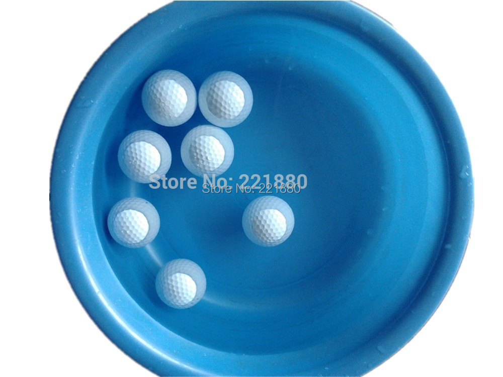 free shipping 50pcs floating golf ball golf two layer practice ball two piece golf ball bolas. Black Bedroom Furniture Sets. Home Design Ideas