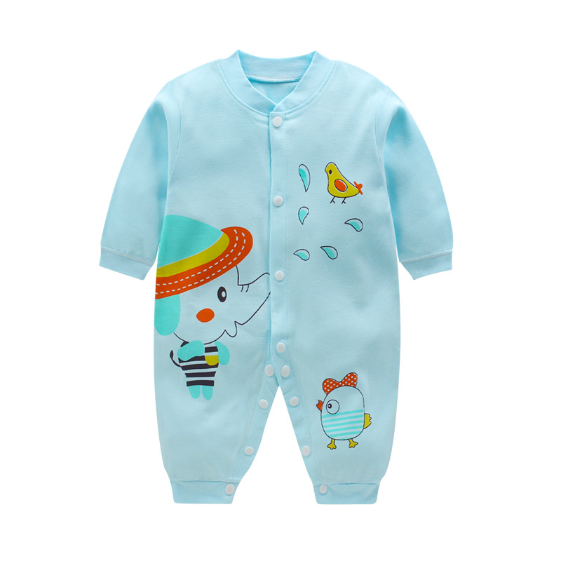 2017 newborn baby clothes 100% Cotton winter clothes Long Sleeve Baby Rompers Soft Infant Baby girl boys Clothing Set Jumpsuits 100% cotton ropa bebe baby girl rompers newborn 2017 new baby boys clothing summer short sleeve baby boys jumpsuits dq2901