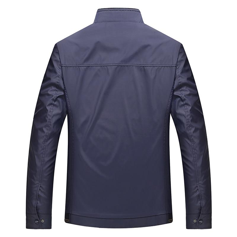 Se Pour Navy Hommes Marque Fit blue Gentleman Blue red Manteau Slim Vestes Branche Loisirs Couleur khaki Casual Collier Solide Classique Moownuc 5wgtzqa