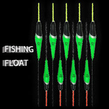 Topline Tackle eva stopper angelnbobbers types electric foam floating bateau de pesca floats glowing fishing float light floater(China)