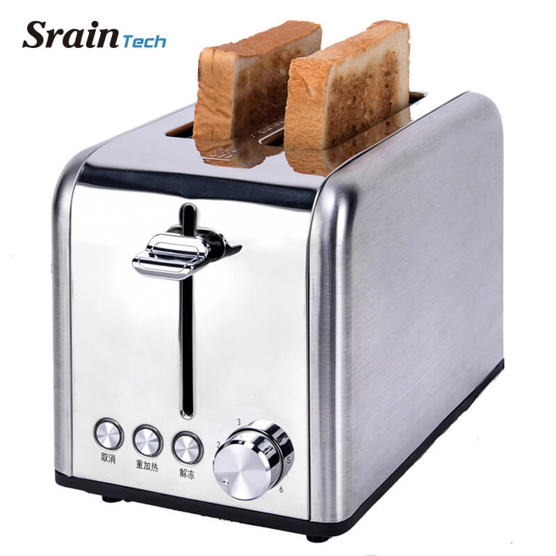 Sraintech Toaster Household Bread Baking Machine Kitchen Appliance Toaster For Breakfast Defrost Function Reheat Function Тостер