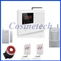 Cheap Classic HOME Office Shop Security Telephone Line PSTN Alarm System With 120 Wireless Zones Voice