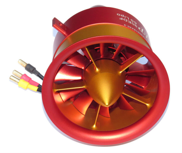 FLASH SALE] 120mm Ducted Fan with EDF 5075 motor kv650 all