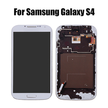 LCD For SAMSUNG Galaxy S4 LCD Display Touch Screen Digitizer With Frame For GT-i9505 i9500 i9505 i9506 i9515 i337 LCD Screen стоимость