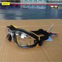 EF32 نظّارة واقية عالية الجودة مضادة للصدمات مكافحة الضباب المضادة للخدش نظارات السلامة حركة ركوب العمل مصقول نظارات
