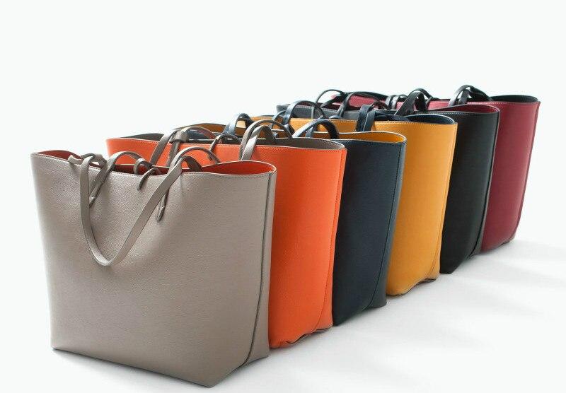 2016 New Fashion Composite Bags Big Size Women Shoulder Bag Women Handbags High Quality Pu Leather Ladies Bags Sac A Main A0328