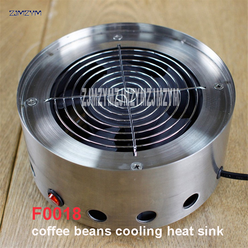 F0018 Mini Family stainless coffee beans cooling plate radiator plate steel with Coffee Roaster with 200g cooking machine 220V stainless steel coffee scoop with bag clip