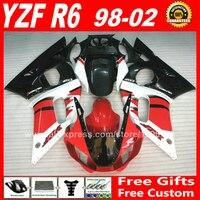 OEM replace Fairings kit for 1998 2002 YAMAHA YZF R6 plastic parts 1999 2000 2001 98 99 00 01 02 fairing kits Z3CG