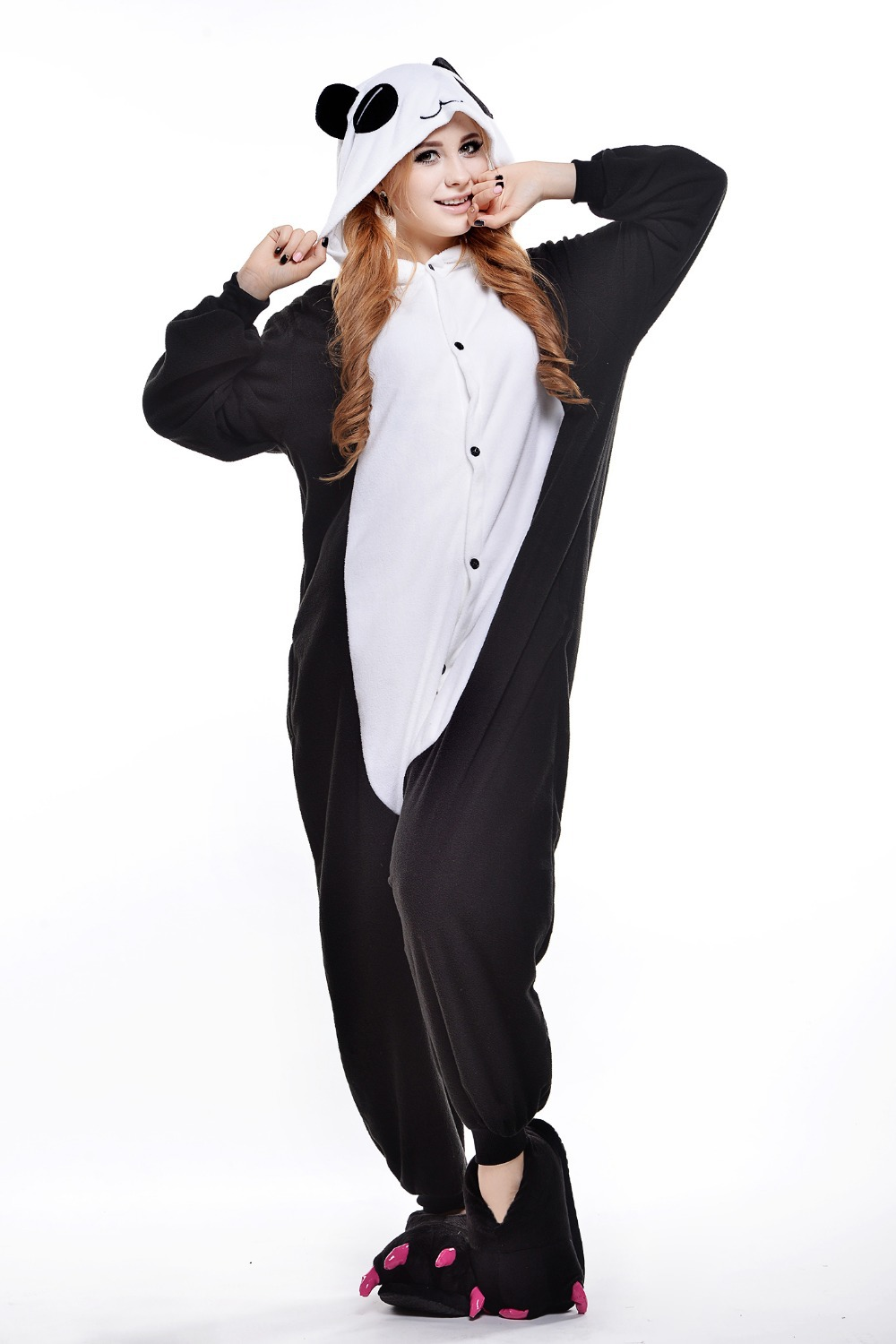 Aliexpress.com : Buy Plus Size Red Eye Panda Costume/ Halloween ...