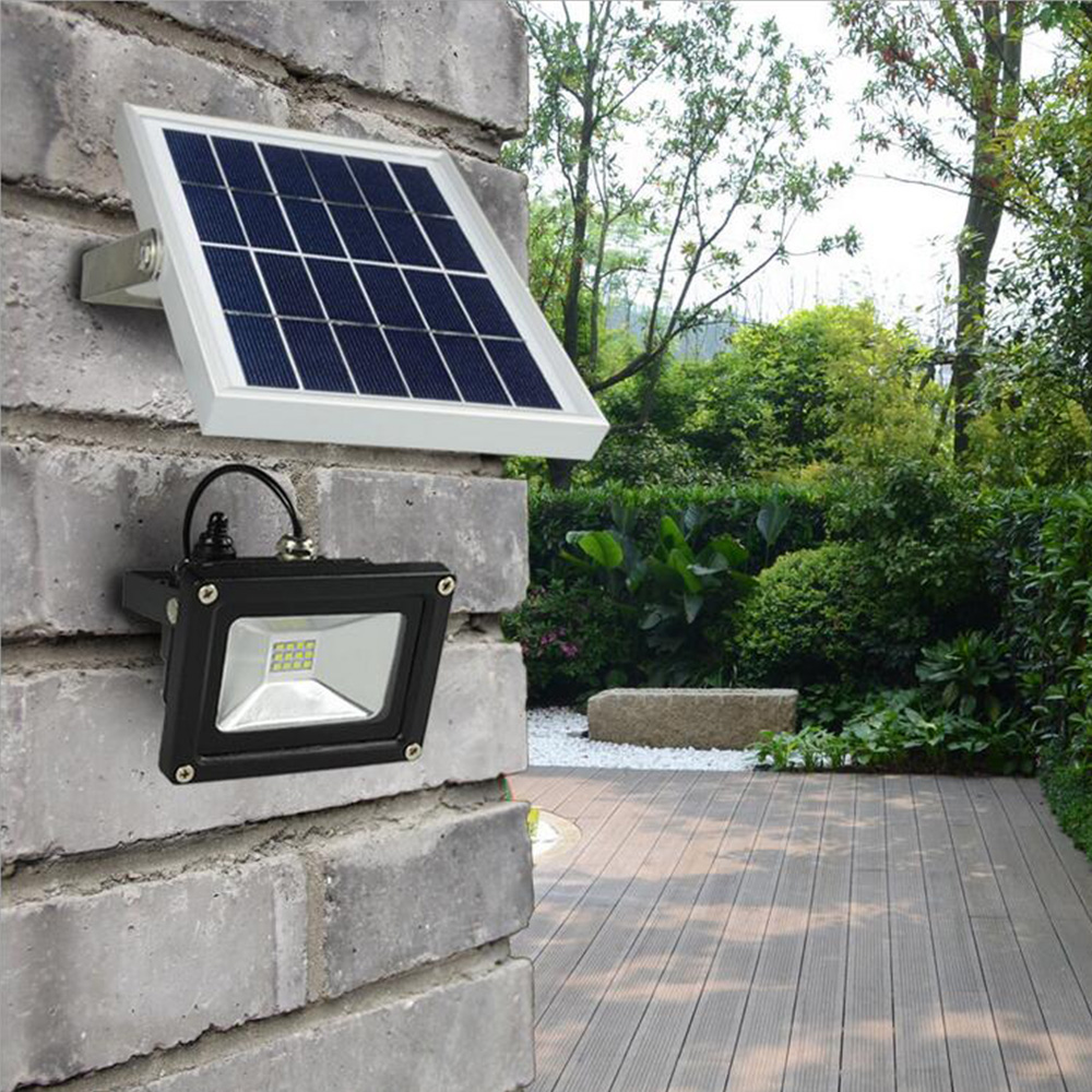 Solar light Outdoor 10W  Waterproof LED solar floodlight with 5M wire+2200mA Battery for LED Outdoor Garden Lamp luces solaresSolar light Outdoor 10W  Waterproof LED solar floodlight with 5M wire+2200mA Battery for LED Outdoor Garden Lamp luces solares