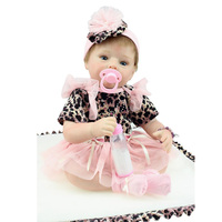 2015 Best Gift New Best Gift Lifelike Silicone Doll Baby 22Inch 55cm Reborn Baby Doll