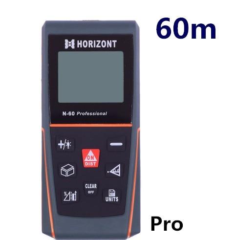 New 60m digital laser distance meter handheld laser rangefinder 60 m outdoor meter measure instrument range finder measure 014 цена