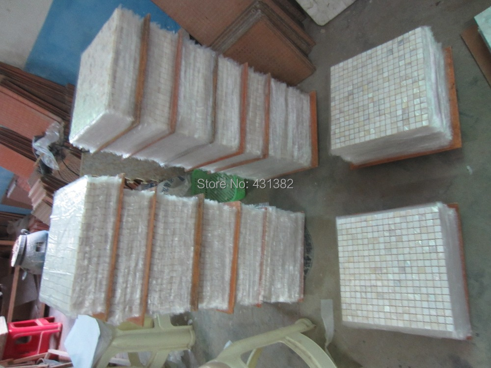 Free Shipping White Mosaic Tile Shower Mother Of Pearl Tileswhite