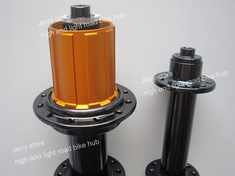 Ultra light weight 260g road bike hub,bitex hub 6 pawls,front 20 rear 24 CP ok