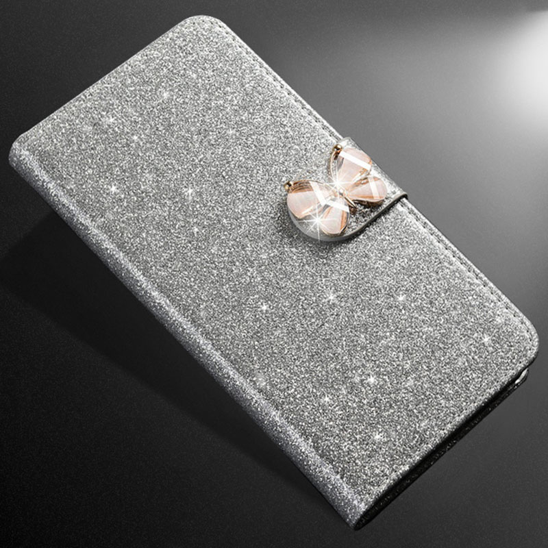 ZOKTEEC Hot Sale Fashion Sparkling <font><b>Case</b></font> For ZTE <font><b>Nubia</b></font> <font><b>Z17</b></font> <font><b>mini</b></font> <font><b>Case</b></font> Leather Coque Cover Wallet Filp Phone With Card Slot image