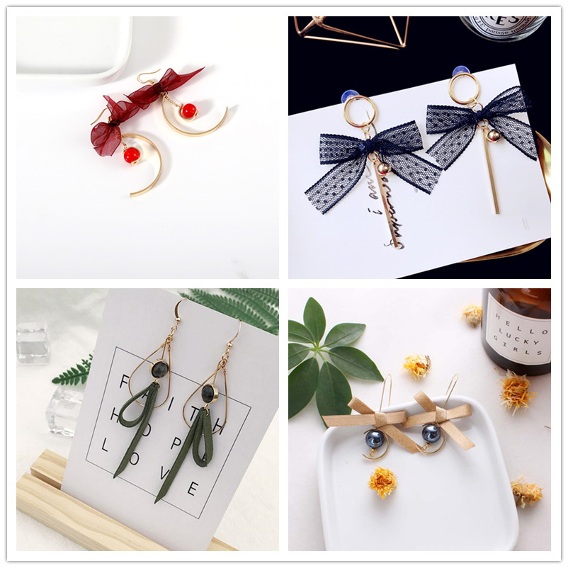 2019 Trendy Handmade Butterfly Earrings Long Earrings Simulated Pearl Rhinestone Pendientes Fashion Wings Earrings Jewelry