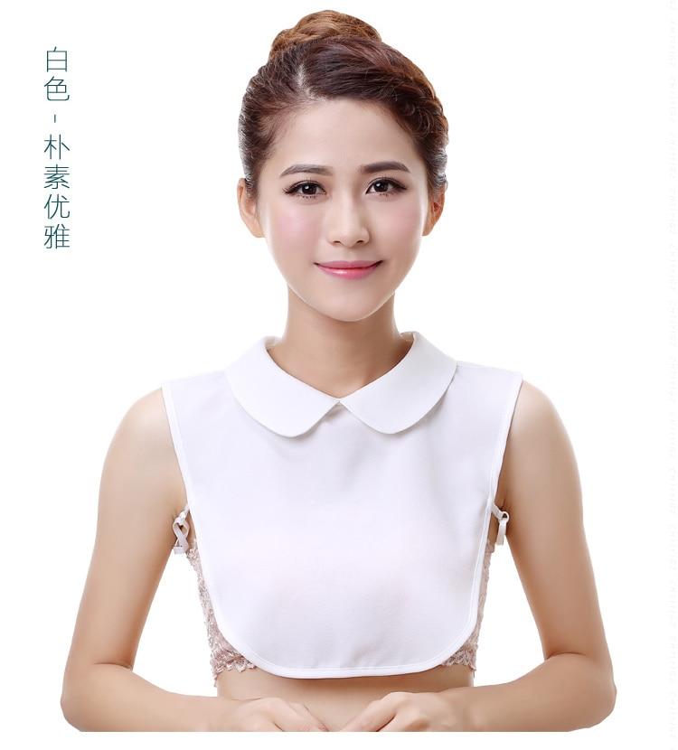 9094eb9c5464c3 Online Shop NEW Arrival Korea Fashion Style white lace half shirt blouse  false collar detachable White& Black&Lace Blouse Detachable Collars |  Aliexpress ...
