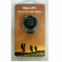 Mini Tracker GPS Tracker Rechargeable USB Receiver with Portable Compass Outdoor Travel Practical Car GPS Tracker