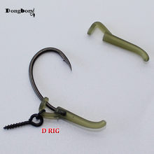 20PCS Carp Fishing Accessories Hook Sleeves Ready D-rig Line Aligner Hair Rigs Zig Rig Terminal Tackle Connect Pop Up Boilies(China)