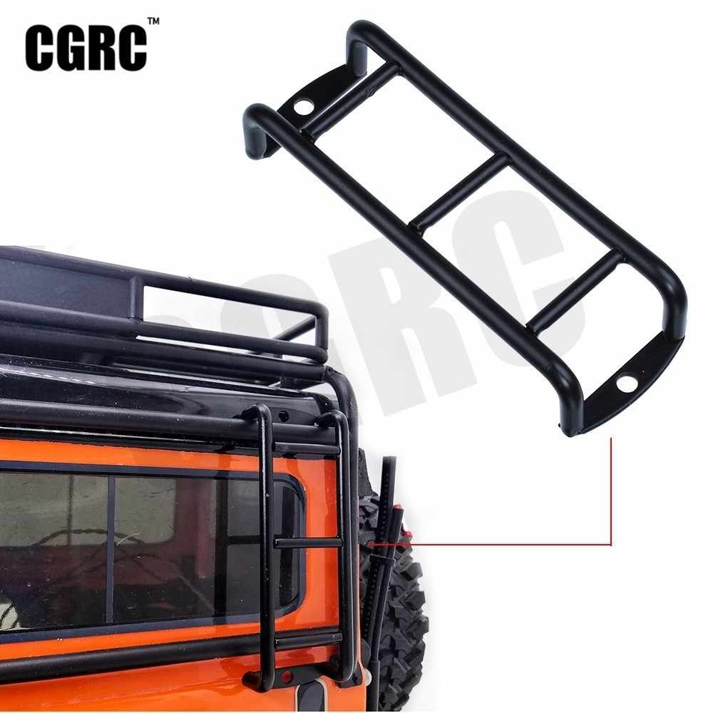 Metal Roof Climbing Ladder Armrest For 1/10 Rc Crawler Car Trx4 Defender Bronco Axial Scx10 90046 CC01 RC4WD D90 D110