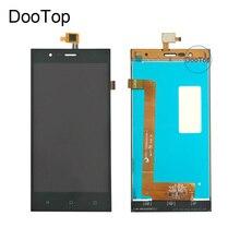 Probado bien Para Highscreen Boost 3 LCD Pantalla Táctil Digitalizador asamblea Negro para Highscreen boost 3 Pro Reemplazo Del lcd Del Envío herramientas