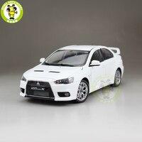 1/18 Mitsubishi Lancer EVO X 10 EVO X Left Steering Wheel Diecast Metal Car Model Toy Girl Boy Gift White