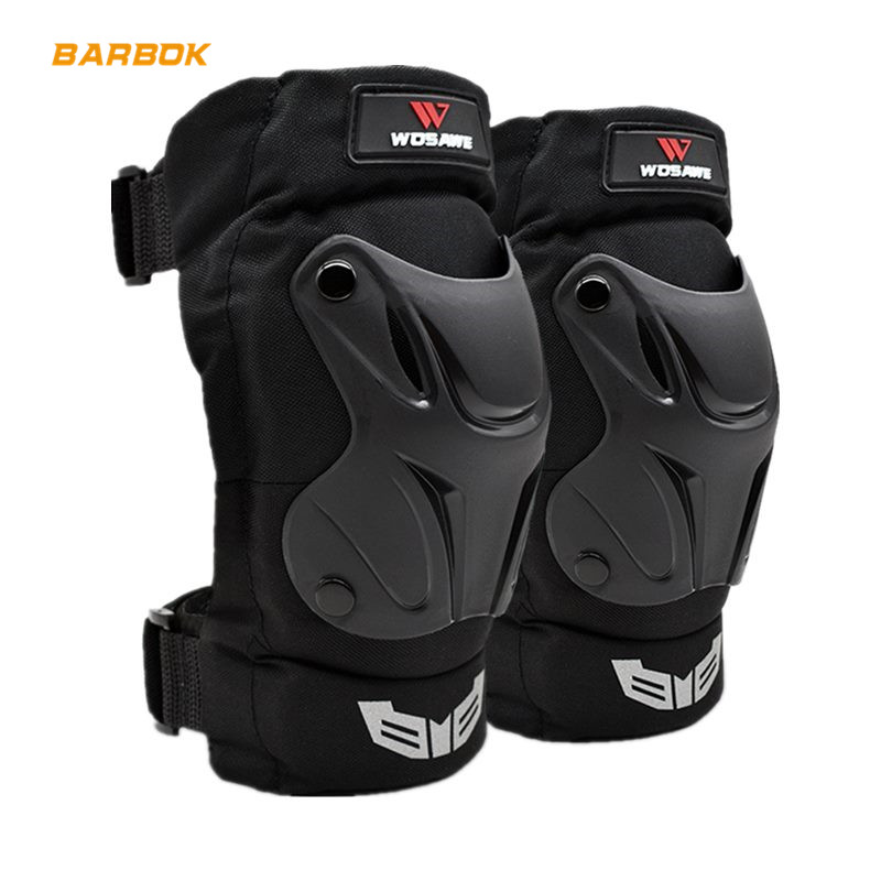 Wosawe Outdoor Sports Knee Protector For Motorcycle Adult Snowboard Volleyball Cycling Roller Adjustable Ski Roller Elbow Guard