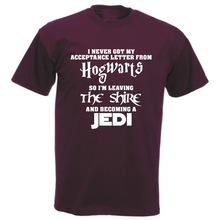 ac79698e6 Funny T-shirts Women Men Hogwarts Lord of The Rings Jedi Stars Wars the  Hobbit